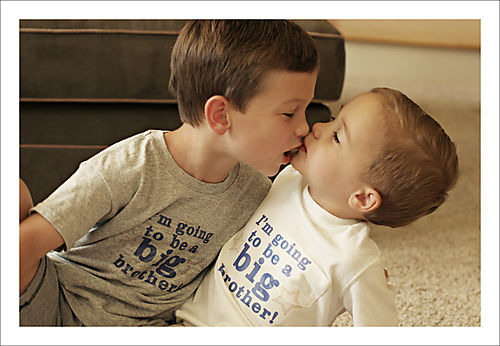 Big brother t-shirts kiss for blog