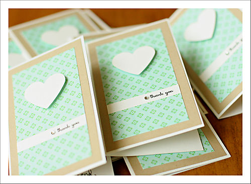 Thank you cards mixed for blog