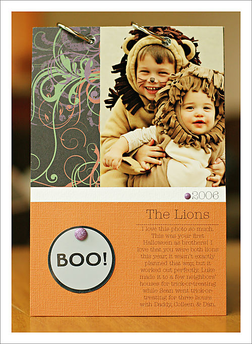 Halloween mini book page 5 for blog