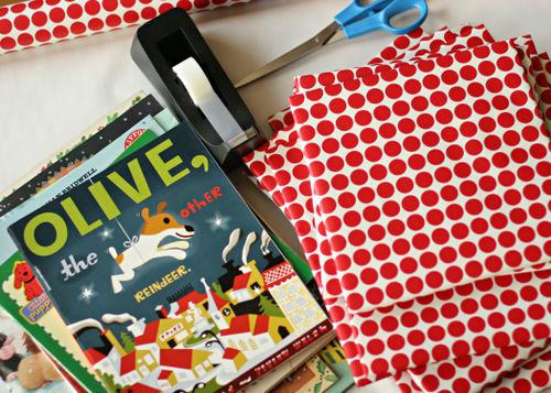 Christmas book countdown preparation 5x7