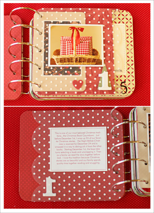 December Daily page 1 for blog