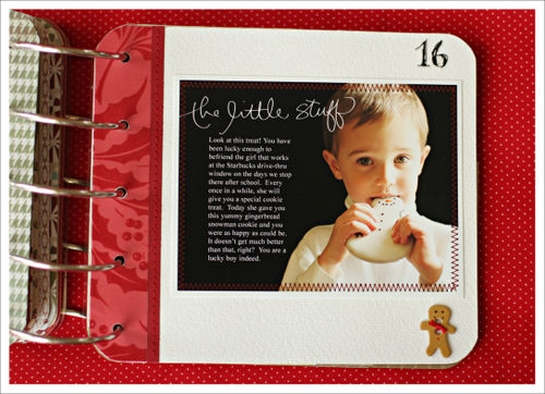 December daily day 16 for blog
