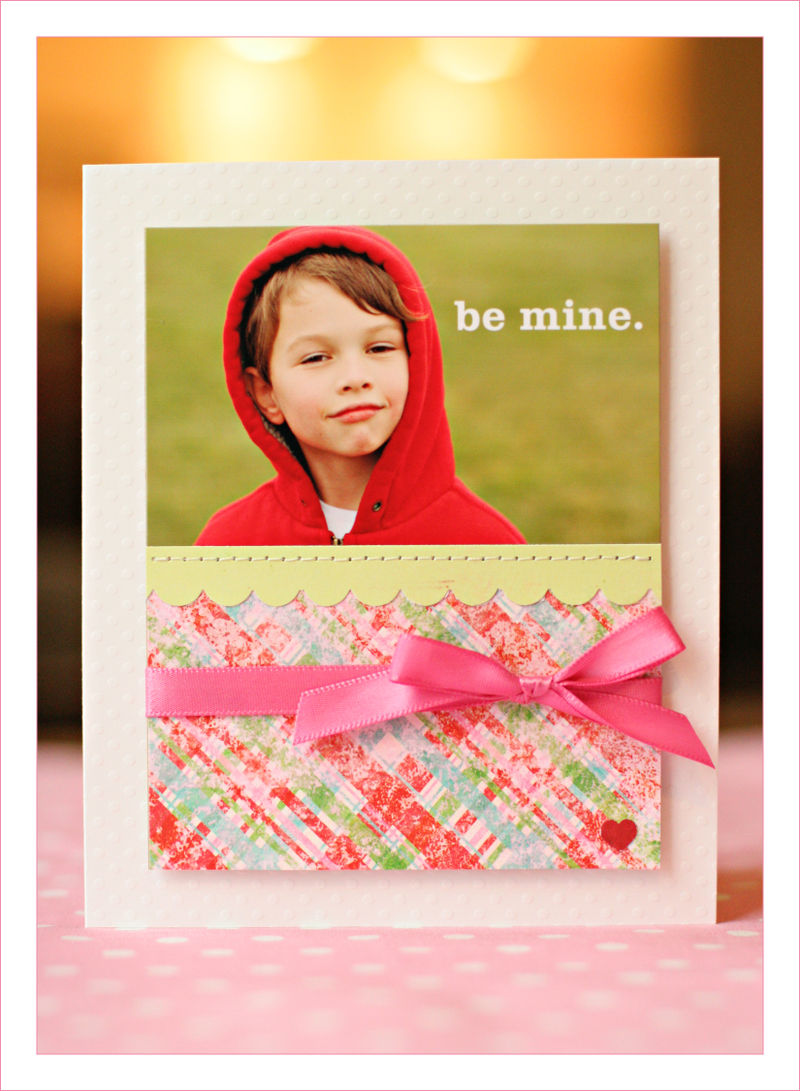 Valentine's card sean for blog