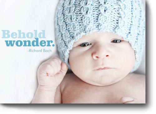 Thursday's thought behold wonder for blog