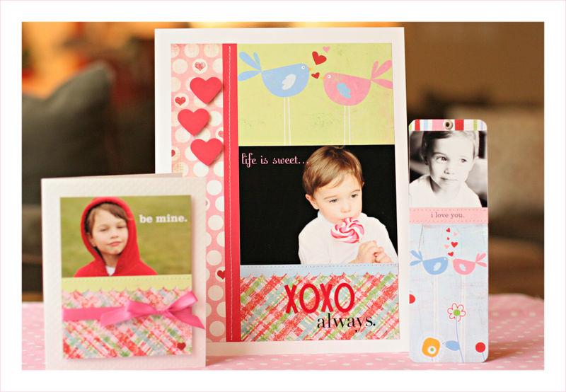 Valentine's trio for blog