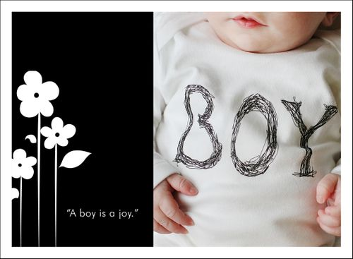 Thursday's thought boy joy