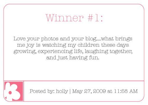 Winner 1 blog