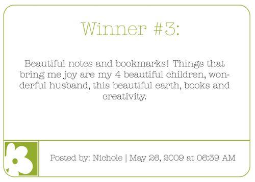 Winner 3 blog