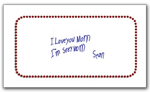I'm sorry note Sean