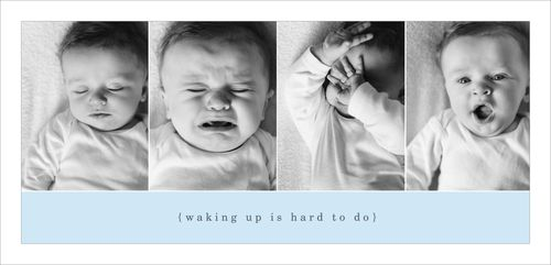 Waking up is hard to do blog