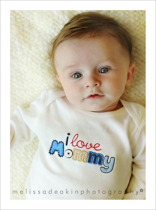 I love mommy for blog