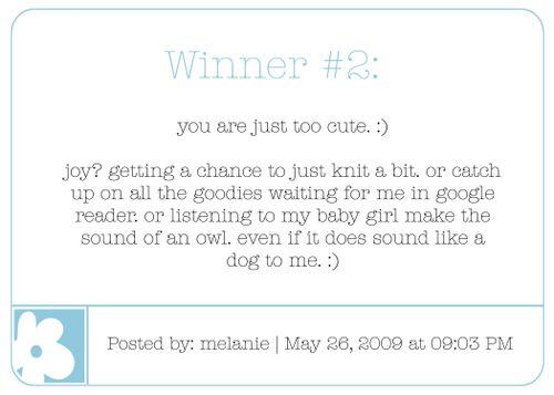 Winner 2 blog