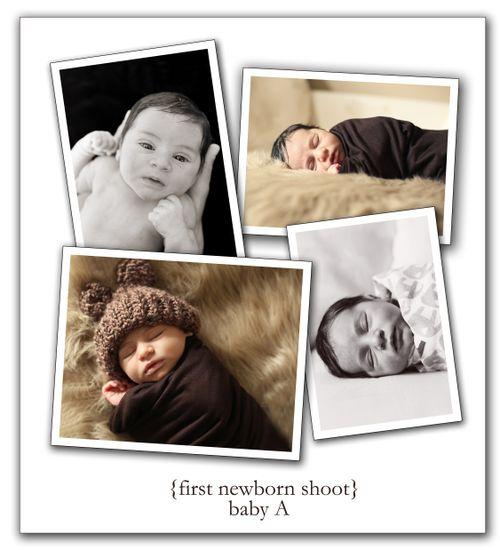 Newborn shoot for blog