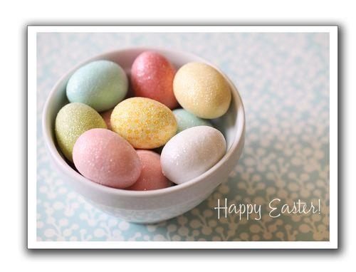 Easter eggs blog