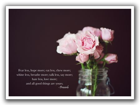 Thursday's thought roses blog