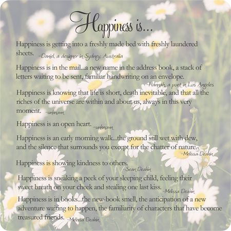Happiness is blog