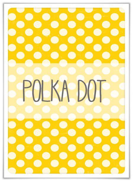 Polka dot prompt
