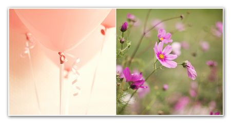 Diptych 42 pink