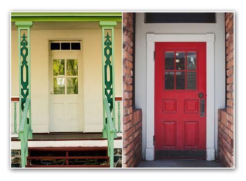 Diptych  no. 43 doors