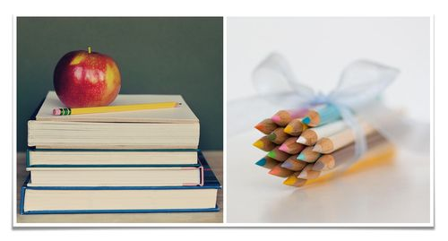 Diptych week no.9 'back to school'
