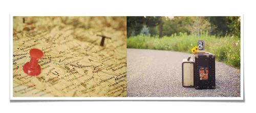 Journey diptych
